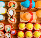 Recipe Box: Sweet Peep Sushi