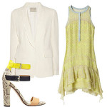 FabSugar: 5 Ways to Wear a White Blazer
