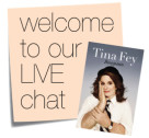 Book Club: Our LIVE Bossypants Chat Starts Now!