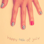 Polished: 4th of July Nails