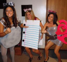 Halloween DIY: Rock Paper Scissors Costume