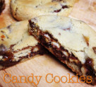 Sweet Tooth: Leftover Candy Cookies
