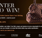 Win a Louis Vuitton Trevi GM Handbag