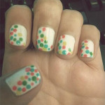 Chic of the Week: Cristolrom's Dotted Mani