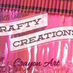 Crafty Creations: Crayon Art