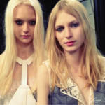 Fashion Week: Backstage at BCBG