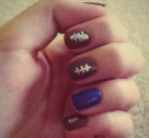 Chic of the Week: Brittany's Football Mani