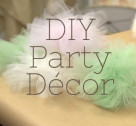 Crafty Creations: DIY Party Decor