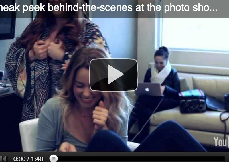 Chic Peek: A Behind-the-Scenes Look at My Lauren Conrad Beauty Shoot