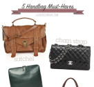 Accessory Report: 5 Must-Have Bags for Fall