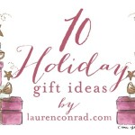 Tuesday Ten: Holiday Wish List