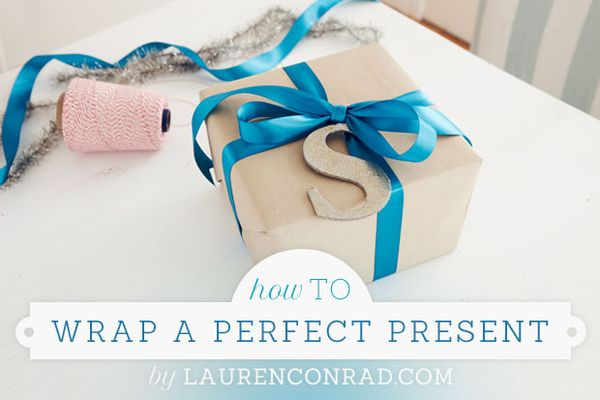 How To: Wrap a Perfect Present