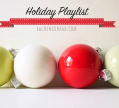 Tuesday Ten: Our Holiday Playlist