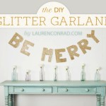 Deck the Halls: DIY Be Merry Garland
