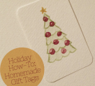HoliDIY: Homemade Gift Tags