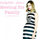 Ladylike Laws: Meeting His Family