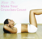 Fit Tip: Make Your Crunches Count