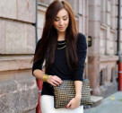 Chic of the Week: Rebekah's Black & White Look