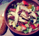 Good Eats: Strawberry Poppyseed & Chicken Salad
