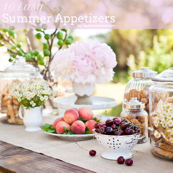 Tuesday Ten: Easy Summer Appetizers