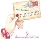 Ask Lauren: My Bestie Lives Far Away