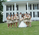 Chic of the Week: Emilee's Beautiful Bridal Party