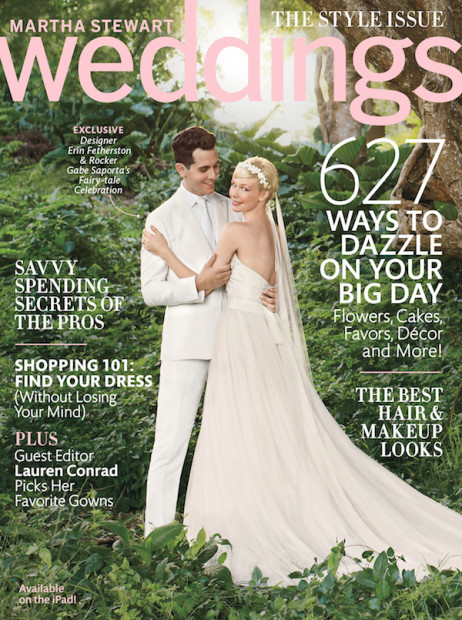 Here & There: I'm the Guest Editor for Martha Stewart Weddings