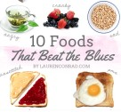 Tuesday Ten: Foods That Beat the Blues