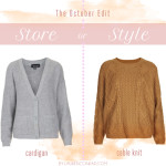 Store or Style: The October Edit