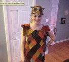 Halloween DIY: Patchwork Owl Costume
