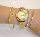 Arm Party Inspiration: Gilded in Gold