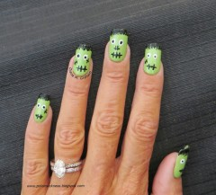 Chic of the Week: Fun Frankenstein Manicure