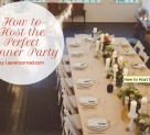 Party Planning: How to Host the Perfect Dinner Party