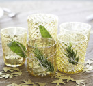 Inspired Idea: Herb Tied Votives