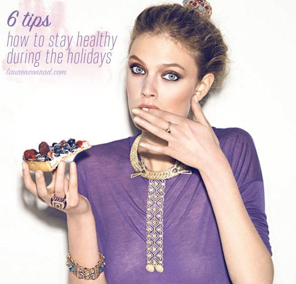 How to stay healthy this holiday season!