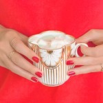 Lovely Libations: Mint White Hot Cocoa