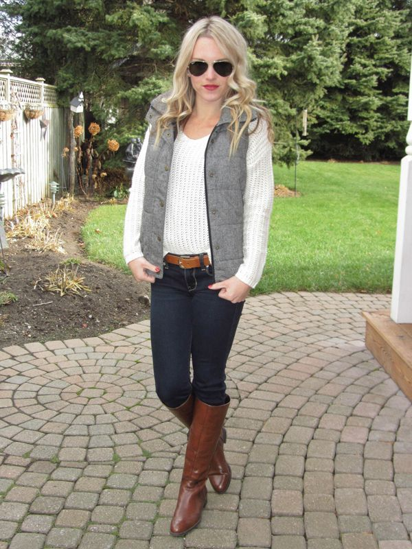 family photo clothing ideas fall 2014 - Chic of the Week Ashley's Vest Obsessed Look Lauren Conrad