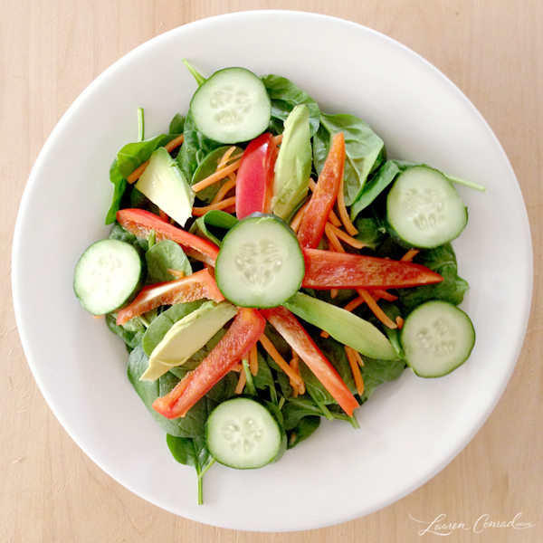 Alkalizing Spinach Salad