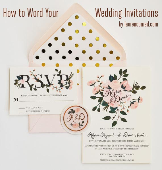 Wedding Invite Etiquette Wording: Wedding Bells: Invitation Etiquette