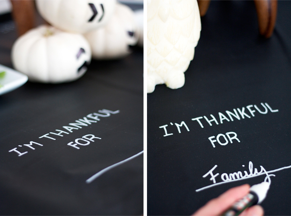 Holiday Special: Black & White Thanksgiving Decor
