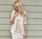 Chic of the Week: Ashley's Rustic Lace Look