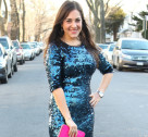 Chic of the Week: Shira's Sequined Style