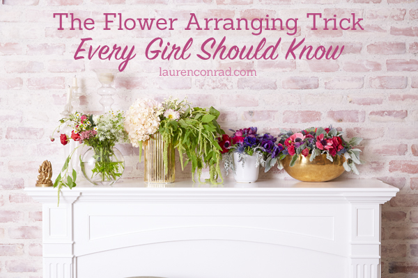 Odds & Ends: My Best Flower Arranging Trick