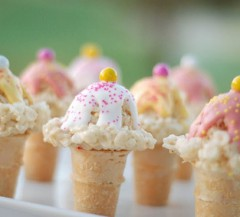 Read on to see this week's favorites from Rice Krispies treat ice cream cones to pastel polish…