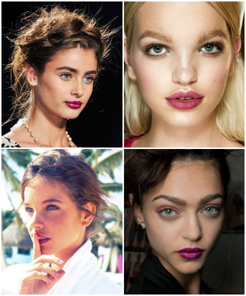 Spring 2014 Beauty - Berry Lips