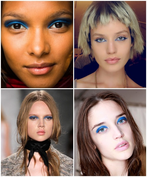 Spring 2014 Beauty - Blue Lids