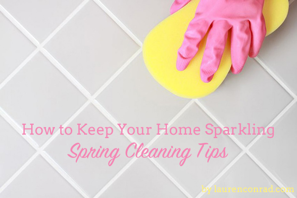 Operation Organize: How to Keep Your Home Sparkling