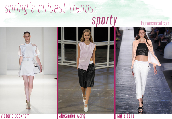 Style Files: A Guide to Spring's 5 Chicest Trends - Sporty