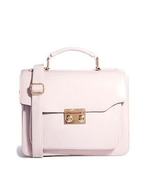 Concertina Satchel Bag, $56.46