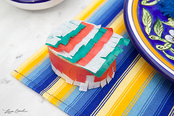 DIY: Mini Piñata Favor Boxes